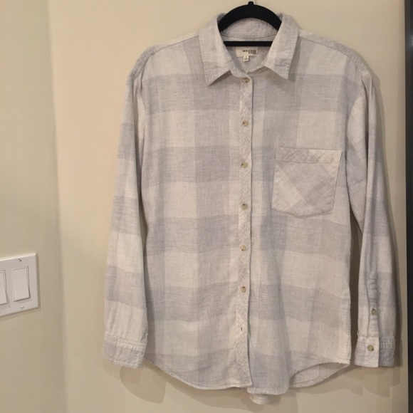 Wilfred Free Plaid Flannel Shirt